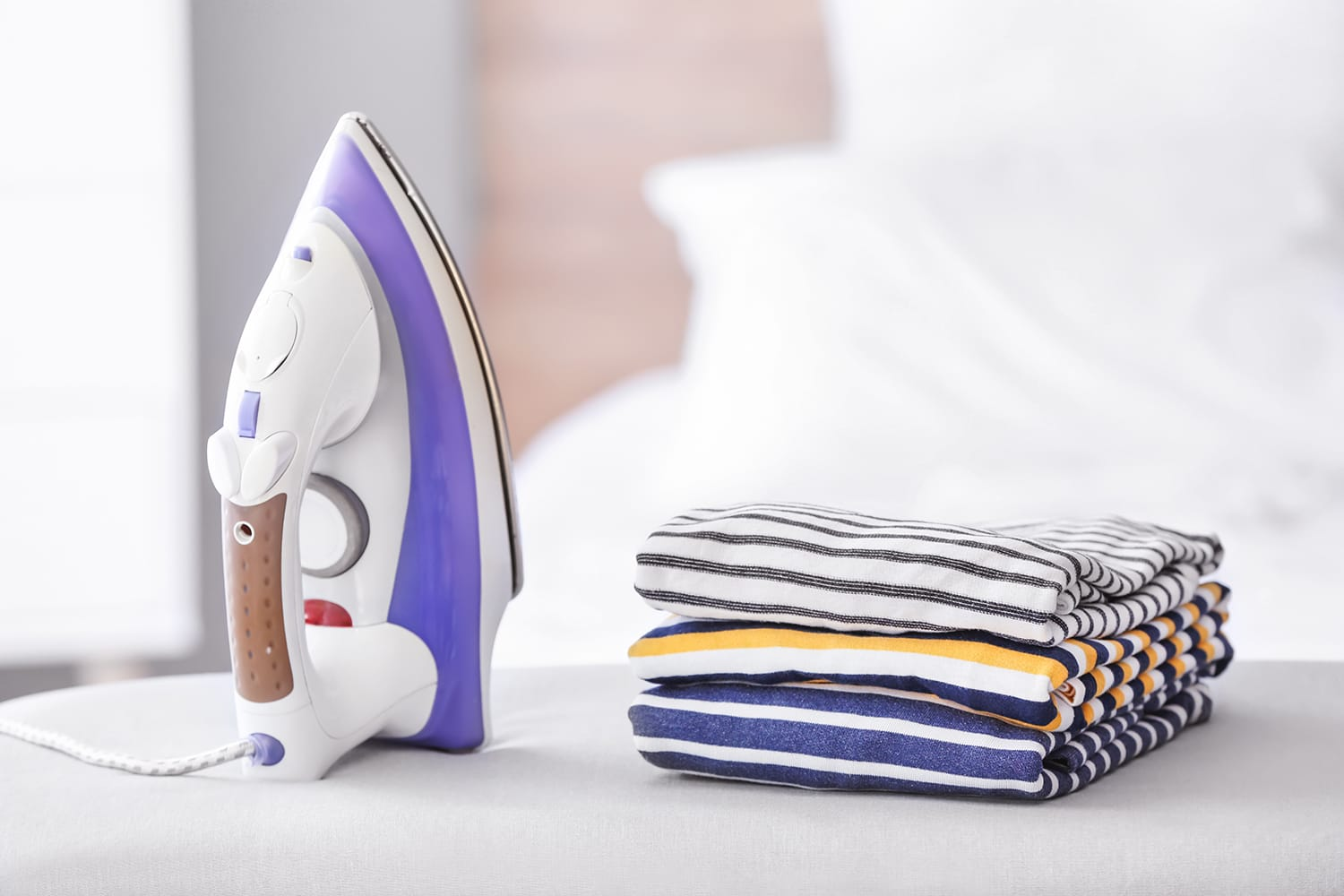 Utilizing a Steam Iron is an Efficient Way to Prepare Your Clothing