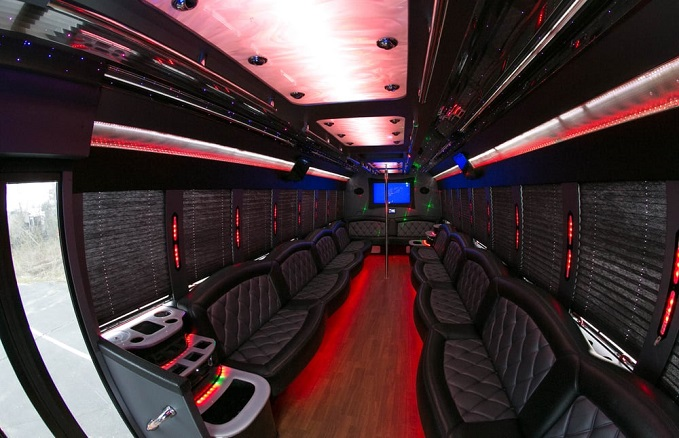 Maintaining The Vibe in a Party Bus